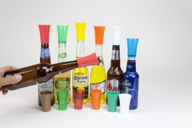 Bottle Top Shot Glass