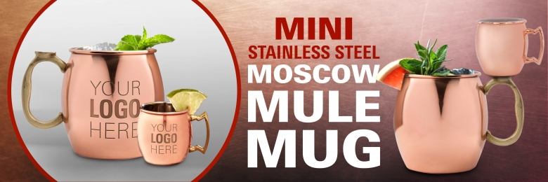 Mini Stainless Steel Mule Mug