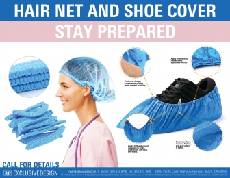 Hair Nets and Shoe Covers