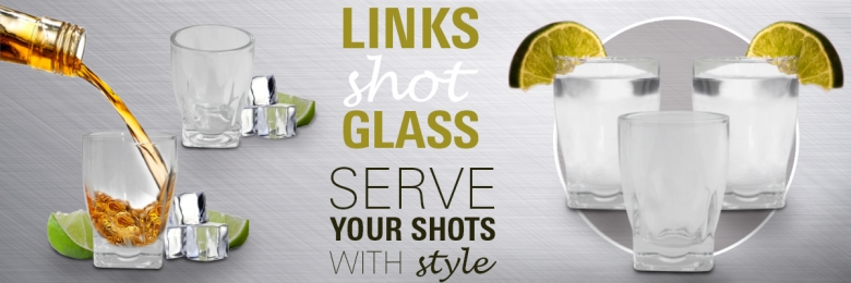 Links Shot Glass