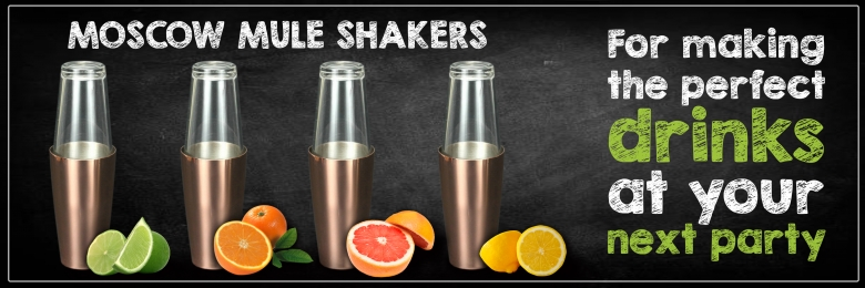 Copper Boston Shaker (Moscow Mule Style)