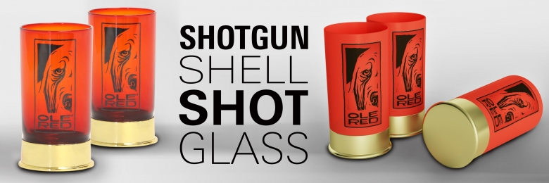 Shotgun Shell Shot Glass