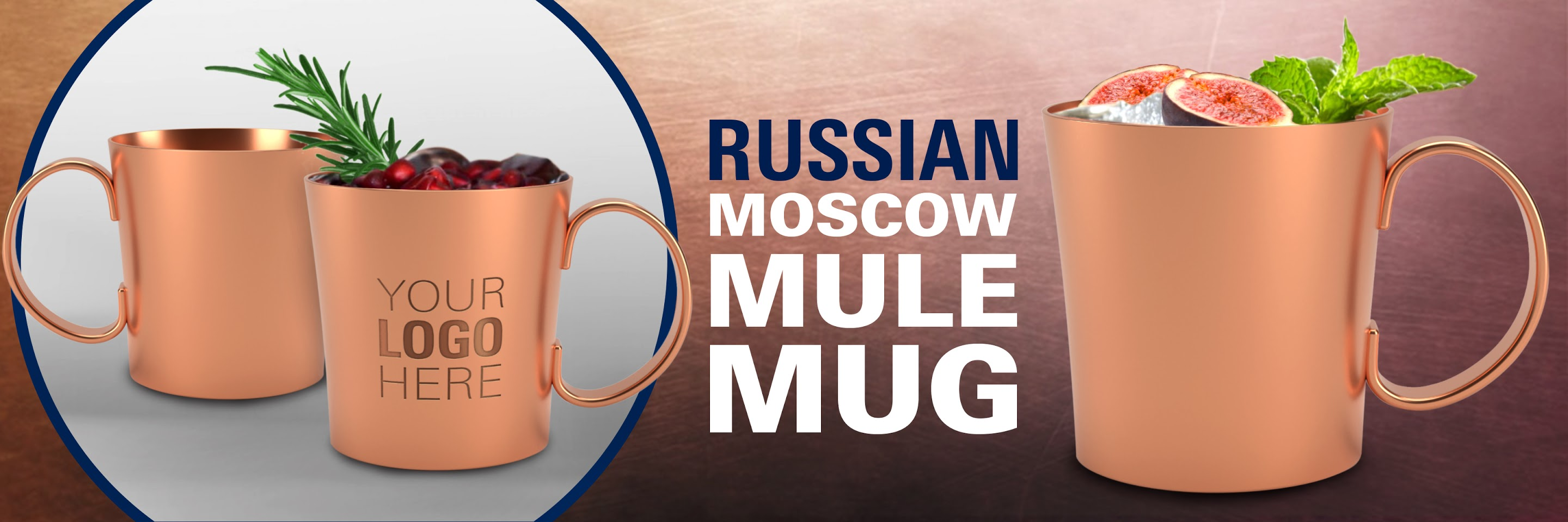 Russian Copper Moscow Mule Mug