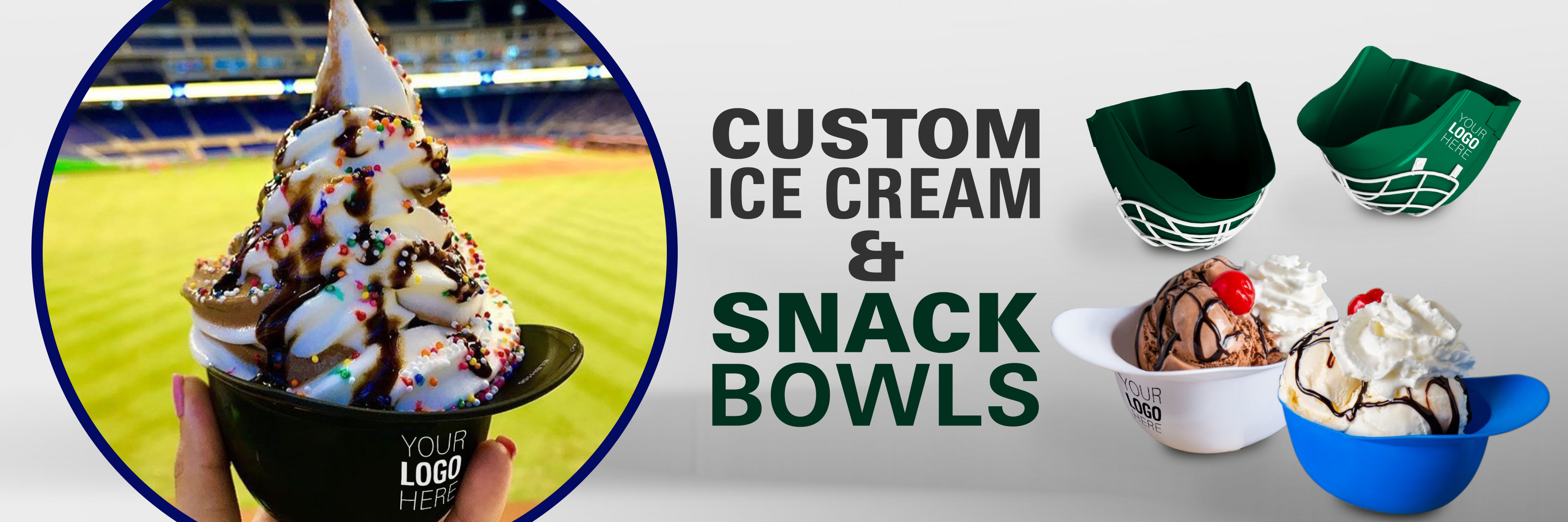 custom ice cream bowl