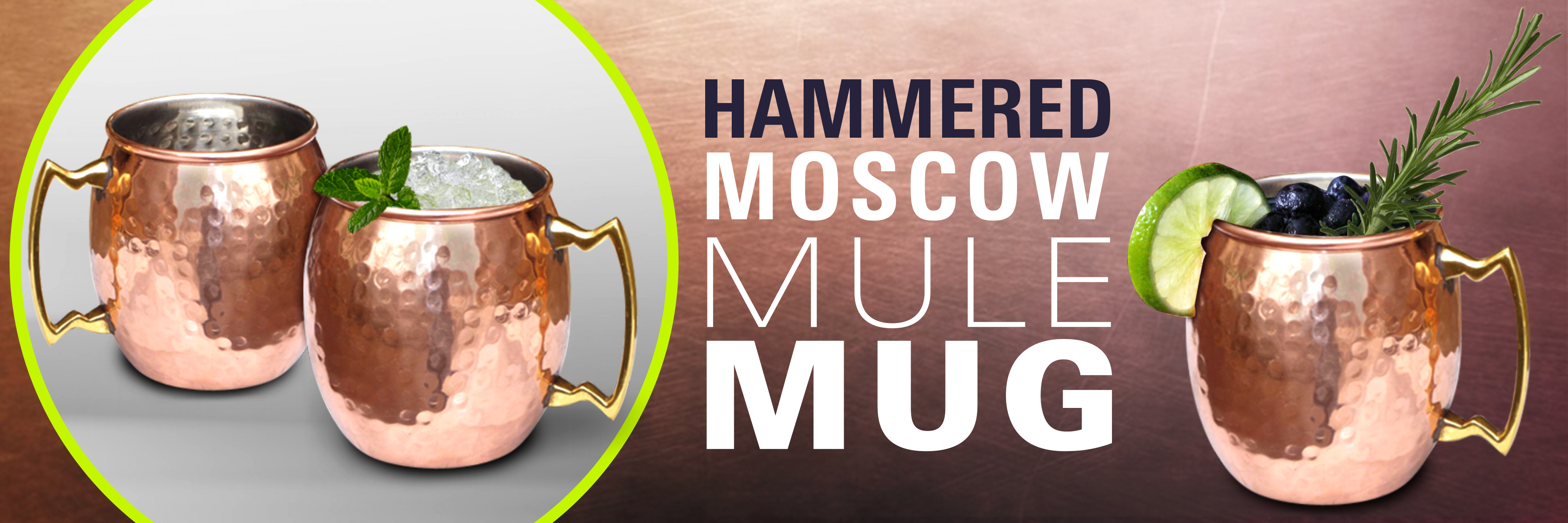 hammered moscow mule