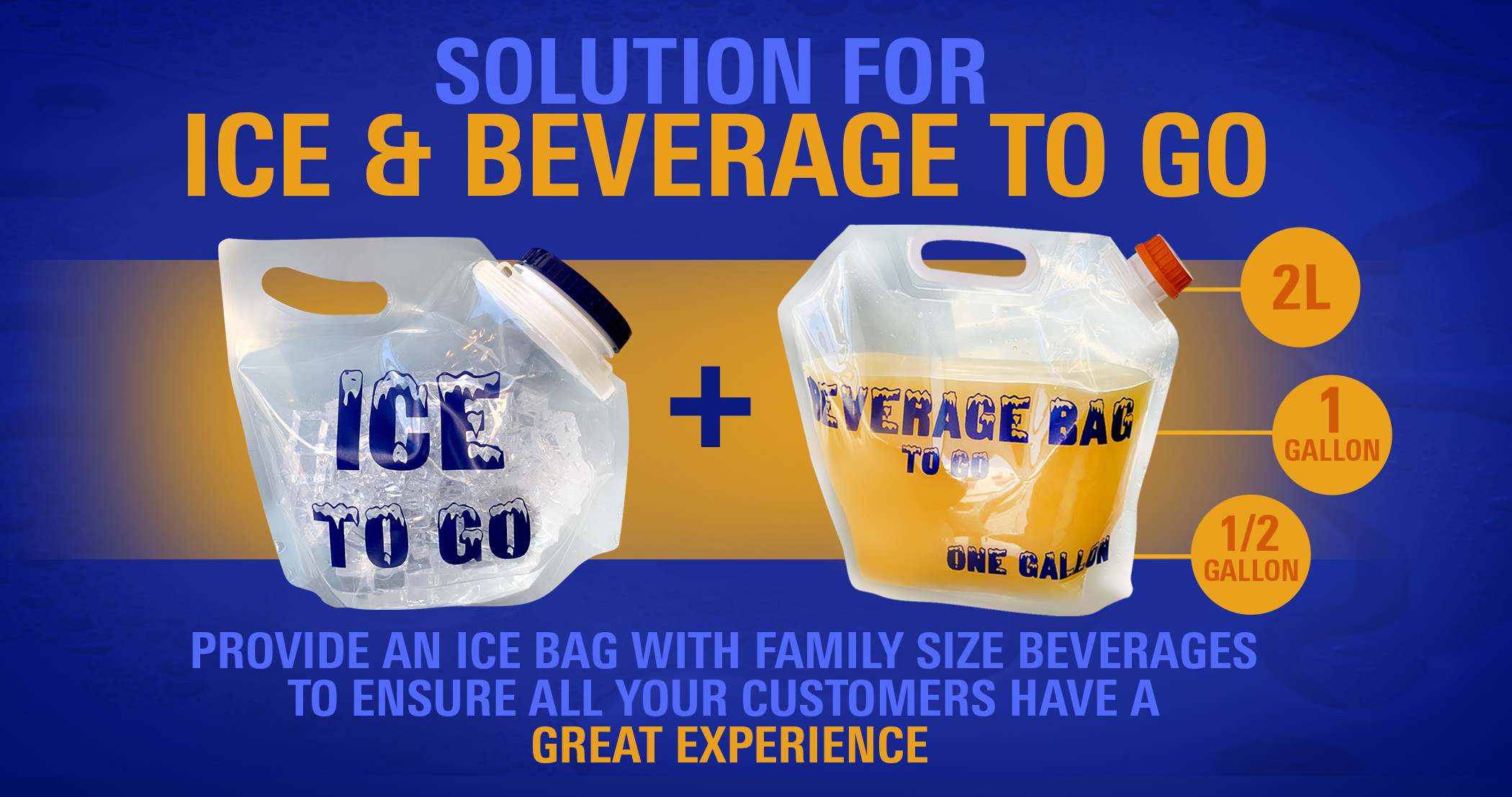 ice beverage bag