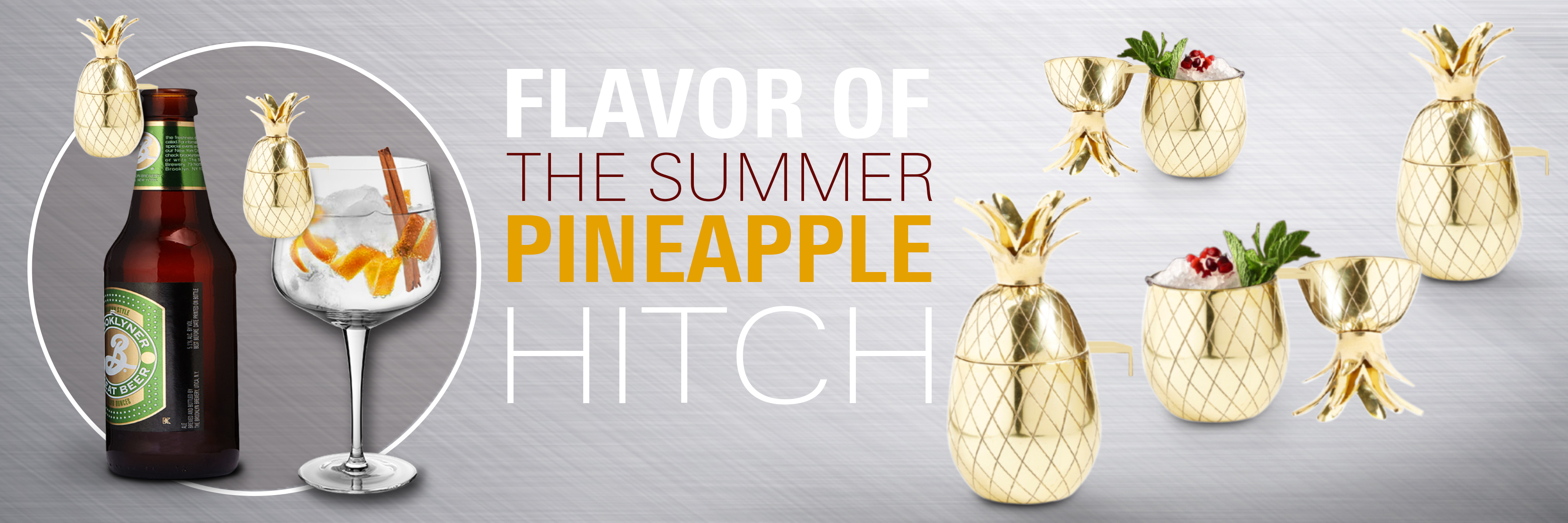 pineapple shot glass