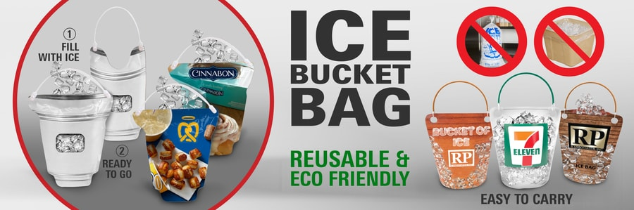 ice bucket bag