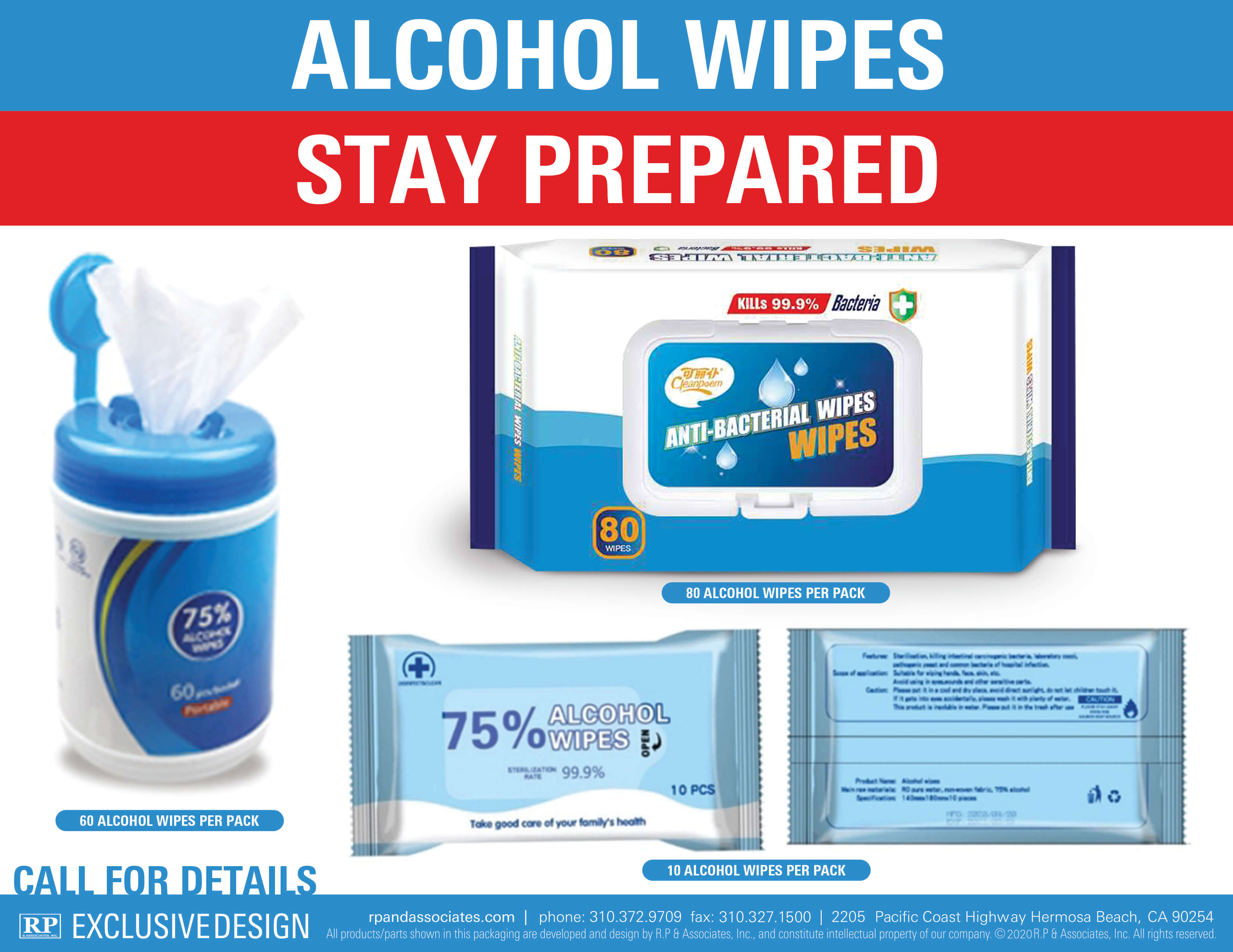 alcohol wipes all