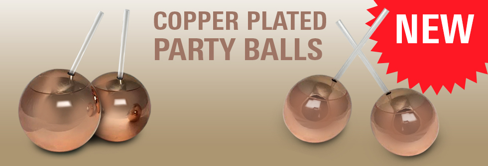 Copper Party Balls