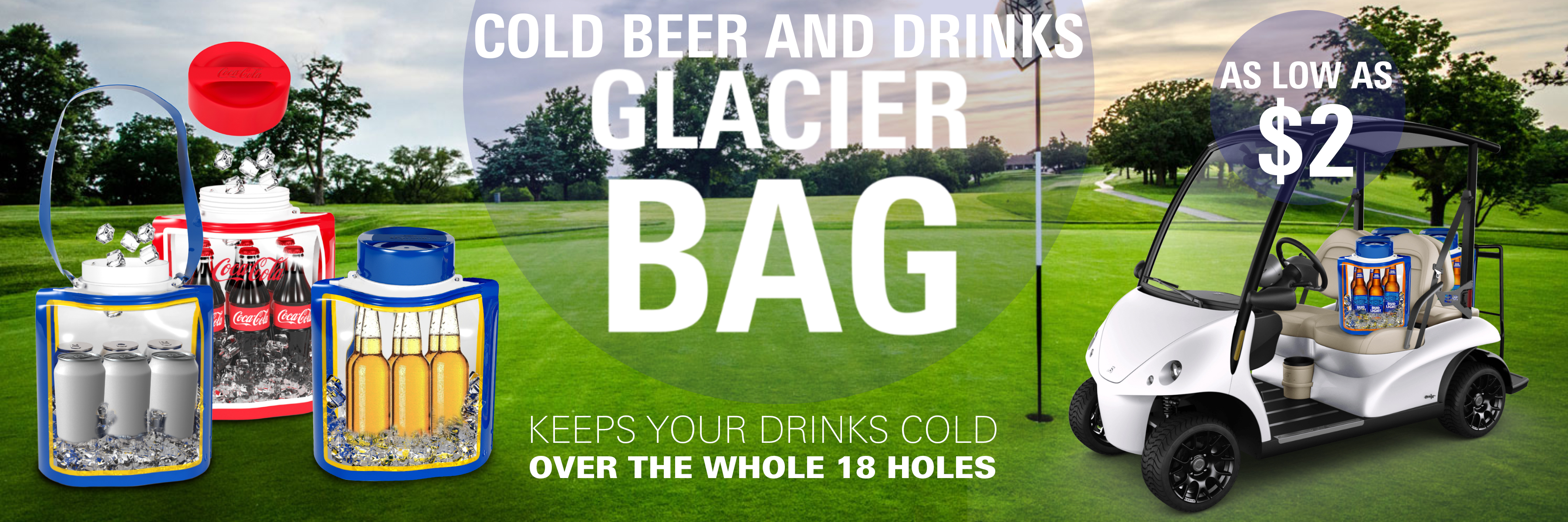 glacier bag golf course