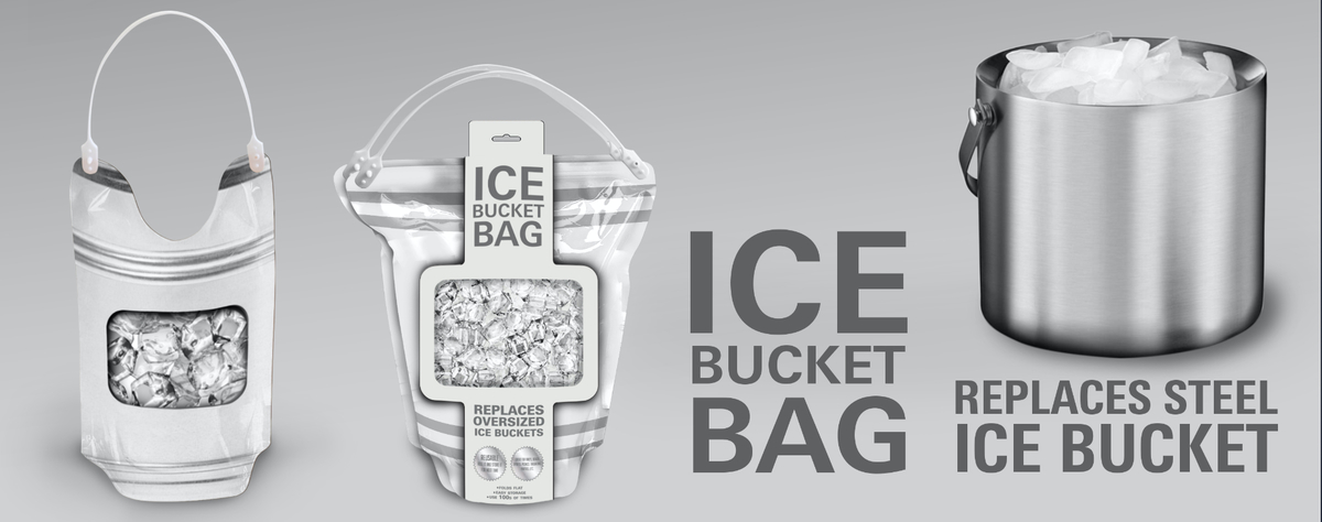 custom ice bucket bag