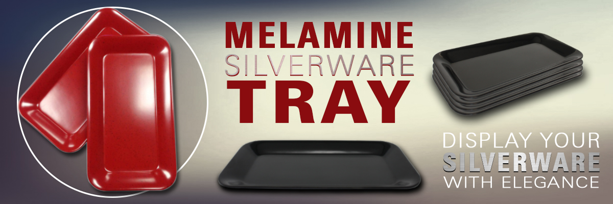 Melamine Silverware Trays