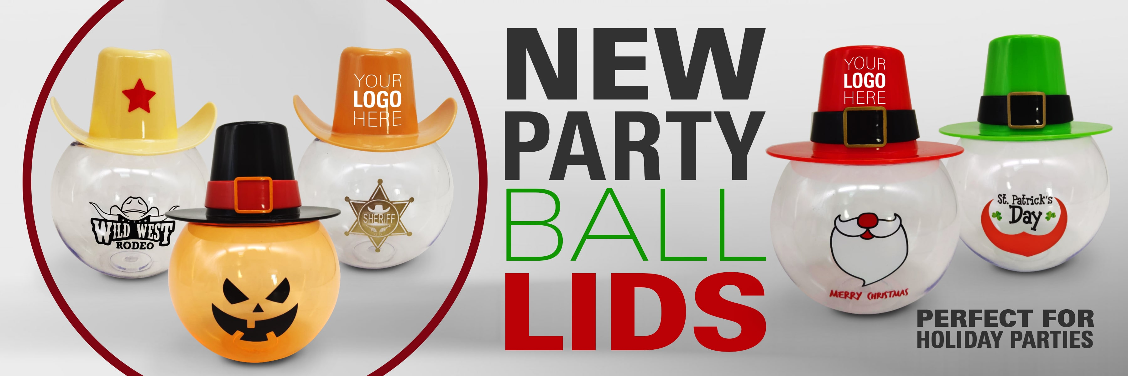 party ball lids