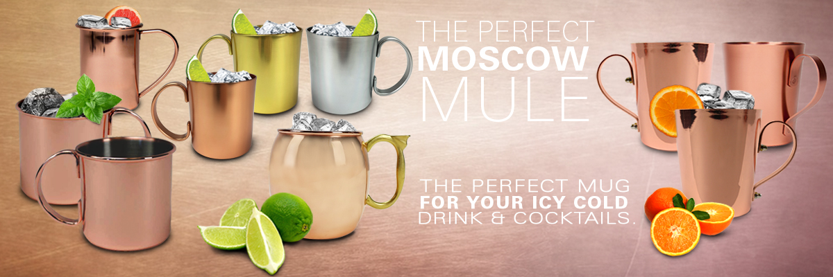 Variety Moscow Mule Mugs