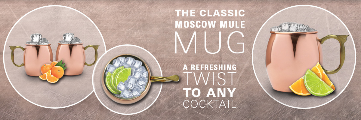 Classic Copper Moscow Mule Mug
