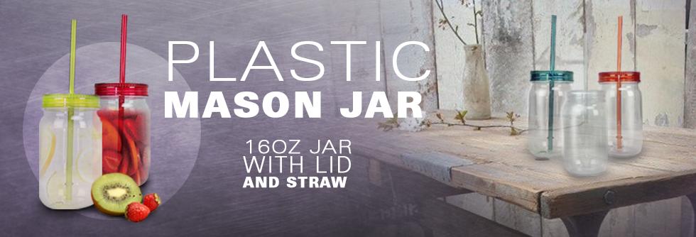 Plastic Mason Jars