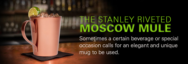 Stanley Riveted Moscow Mule Mug