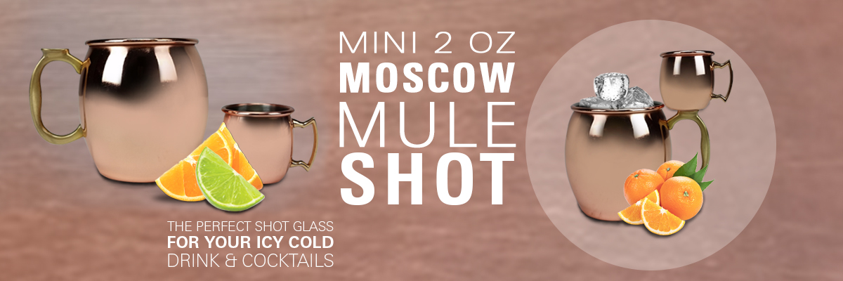 Mini 2oz Moscow Mule Shot