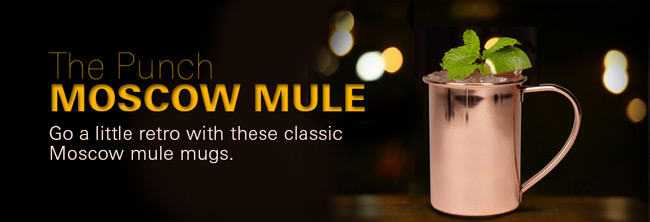 Punch Copper Moscow Mule Mug