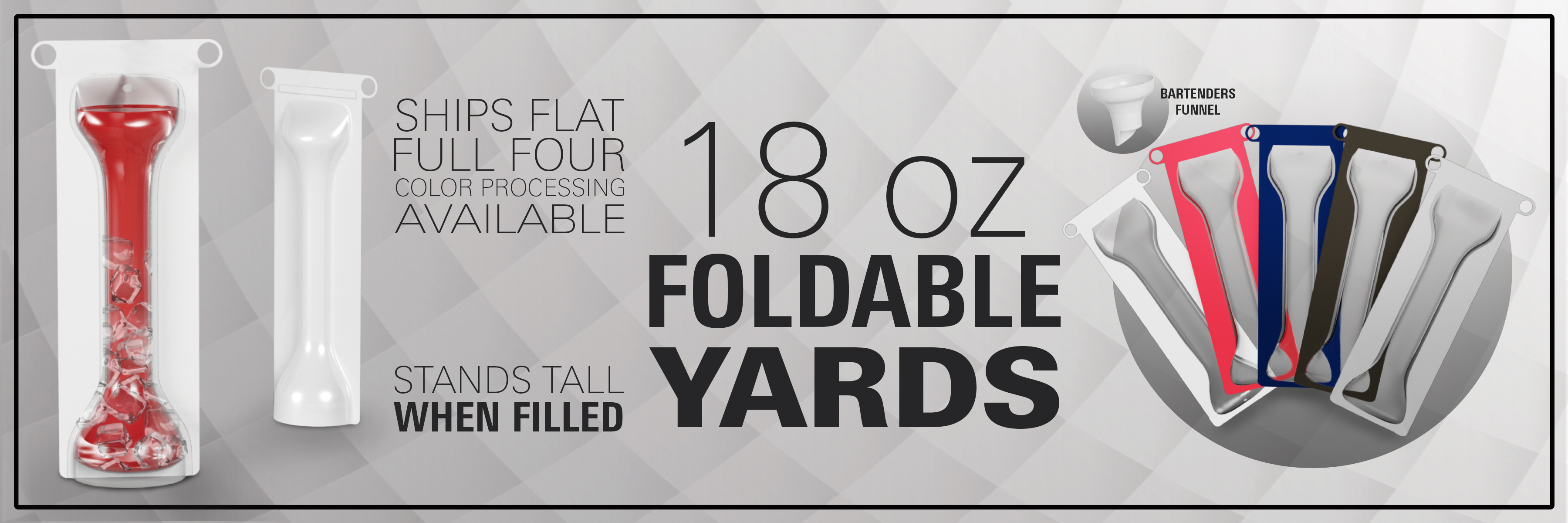 Foldable Yards