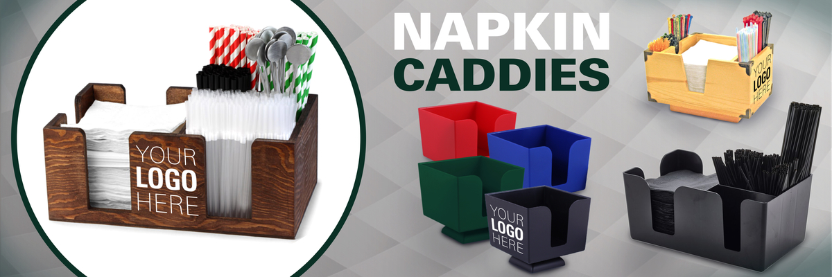 custom napkin caddies