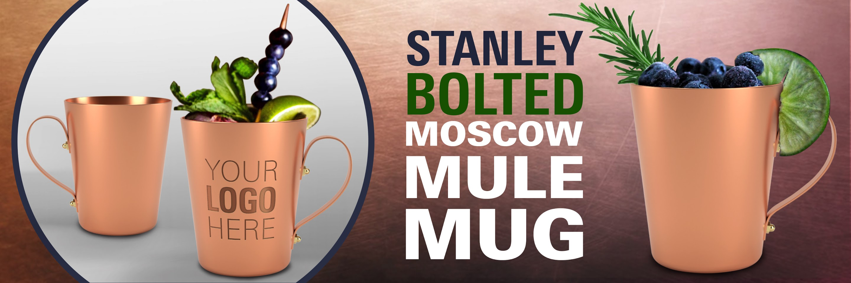 Stanley Bolted Moscow Mule Mug