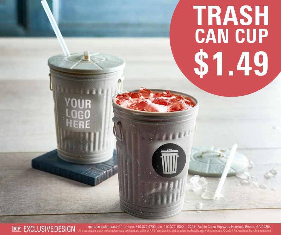 trash can cup